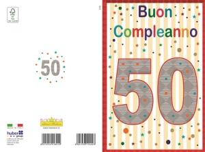 50 anni unisex small