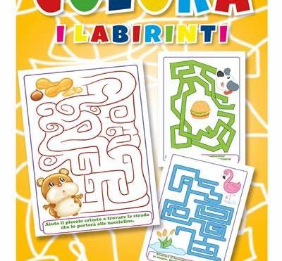 Cod. 6417 Colora i Labirinti